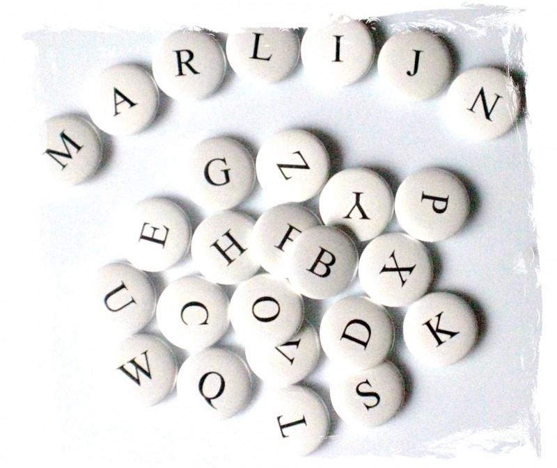 Letter C 25 mm.