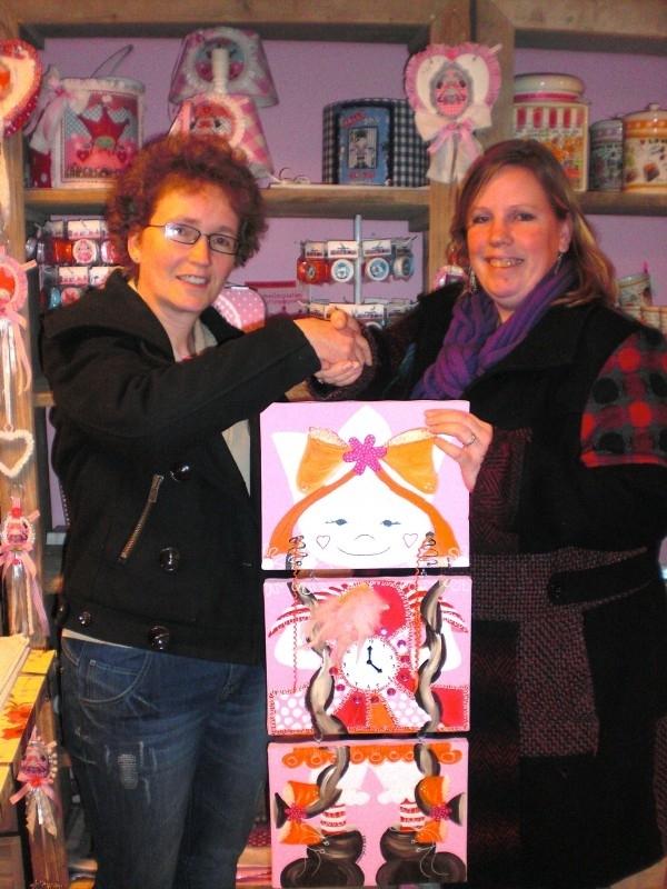 Donatie schilderij, sponsor mij 9 en 10 Maart Alpeduzes.
