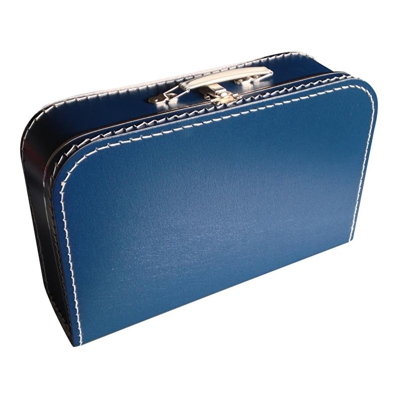 Koffer donker blauw 35 cm