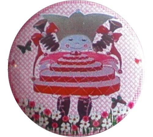 Button Marlijnpoppendijn taart.