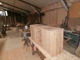 OAK1 robuuste eiken dressoir vanaf  €  800,00