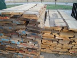 Eiken planken/ balken/spanten / per m3