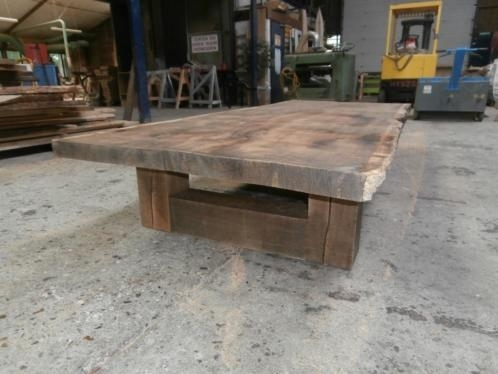 Verbazingwekkend Old-Look massief eiken salontafel | eiken salontafel | pvverbouw YX-55