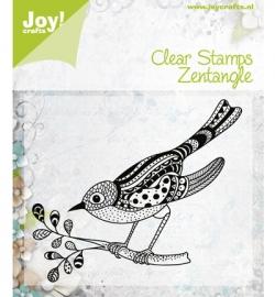 Joy! clearstamp Zentangle bird 6410/0347