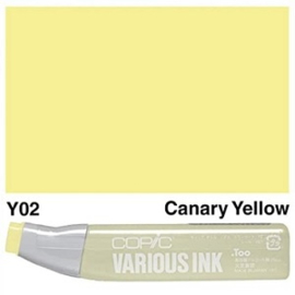 Copic ink Reffil Canary Yellow Y02