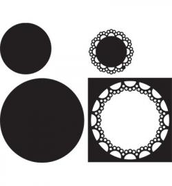 Craftables CR1239 Passe-partout circle