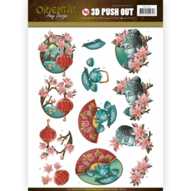 3D puch-out Oriental SB10251