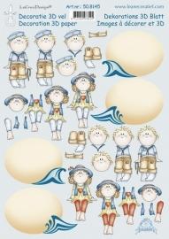 3D - Leane Creatief - Summer Bambinie 50.8145