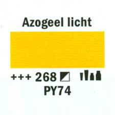 Amsterdam Acrylverf 120ml 268 Azo geel licht