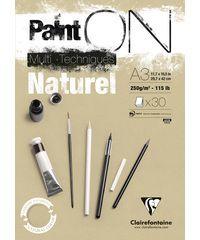 Paint On A3 Naturel 250gr 30 vellen