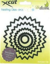 Xcut NESTING DIES - Spiro circle