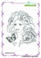 Summer Fair Single Rubber stamp - A6 0523