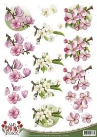 3D Knipvel - Amy Design - Spring - Flowers CD10610