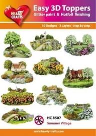 Easy 3D topper HC8507 Summer village