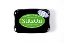 Stazon ink pad Cactus green
