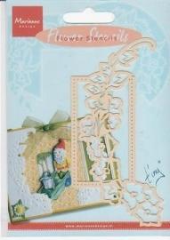MD Flower stencil EE3446 Embossingmal