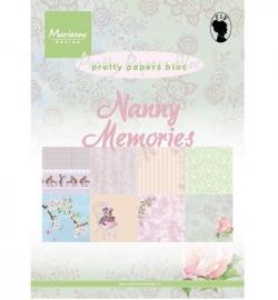 MD Pretty papers Nanny Memories  PK9122