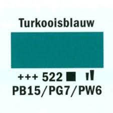Amsterdam Acrylverf 120ml 522 Turquoise