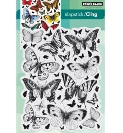 Penny Black Clingstamp Butterfly charmer 40442