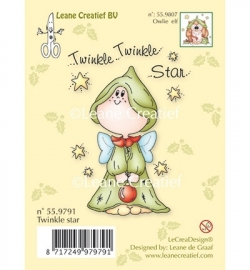 Leane creatief Clear Stamp - Twinkle star 55.9791