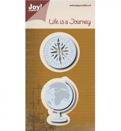 Joy! Snijmal Aardbol/kompas 6002/0504