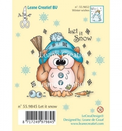 Clear Stamp - Owlie Let it snow 55.9845