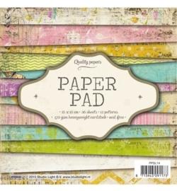 SL  Paper Pad - Paper Pad Blok nr.14 15 x 15 cm