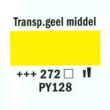 Amsterdam Acrylverf 120ml 272 Transp geel middel