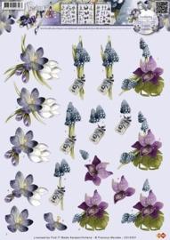 Marieke knipvel- Bloemen CD10357