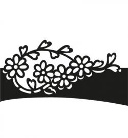 Craftables - Folding die Flowers CR1270