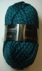 Annell Snow Kleur 3945 Blauw-groen