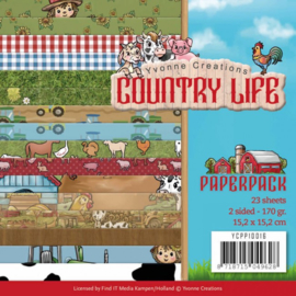 Paperpack Country Life YCPP10016  15 x 15cm