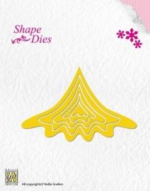 Shape Dies - Build-up Christmas tree SD036