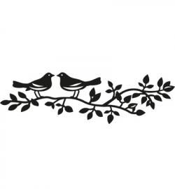 Craftables - Birds silhouette CR1264