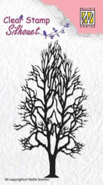 NS Clear stamps - Silhouet - Tree-2 SIL008
