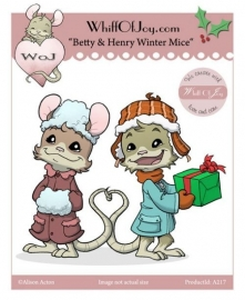 "Whiff Of Joy  ""Betty & Henry Winter Mice"