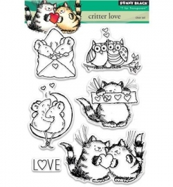 Penny Black Clearstamp Critter love 30331