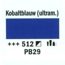 Amsterdam Acrylverf 120ml 512 Kobaltblauw
