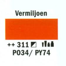 Amsterdam Marker 8-15mm 311 Vermiljoen