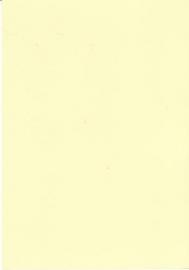 A5 hobbykarton 200gr Licht geel 10st