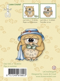 Clear Stamp Owl Pipa in Summer