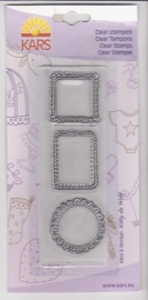 Clear stempel kaders kl 0516