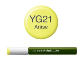 Copic ink Reffil  Anise YG21