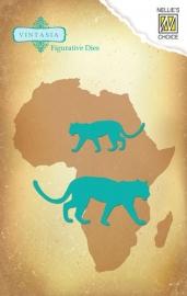 Vintasia Die - Big-Five serie African Leopard VIND032