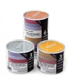 Panpasten Metalic set van 3 + toebehoren