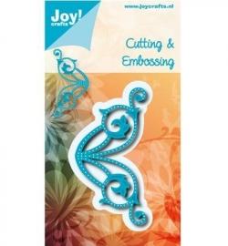 Joy! Cutting & embossing Hoek met gaatjes 6002/0552