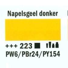 Amsterdam Acrylverf 20ml 223 Napelsgeel donker