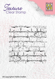 NS Texture Clear Stamps Bricks TXCS003