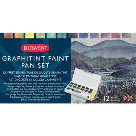 Derwent Graphitint paint set