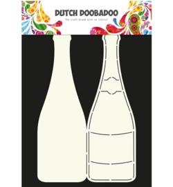 DDD Card Art Champagne bottle 470.713.602
